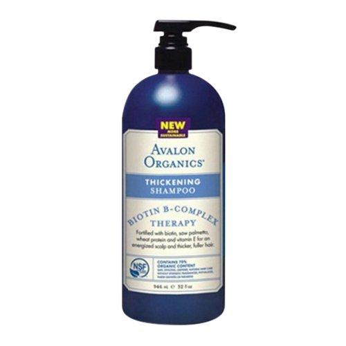 Avalon Organics Thickening Shampoo Biotin B-Complex Therapy -- 32 fl oz (Avalon Organics Shampoo)