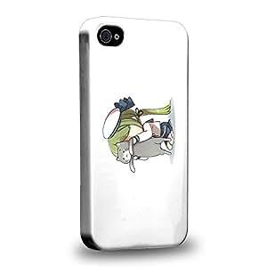 Case88 Premium Designs Kantai Collection Kancolle 1092 Carcasa/Funda dura para el Apple iPhone 4 4s