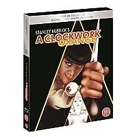 A Clockwork Orange: The Premium Collection (Blu-ray + DVD + Digital Download + Bonus Disc + UV) (Slipcase Packaging + Exlcusive Booklet + Region Free + Fully Packaged Import)