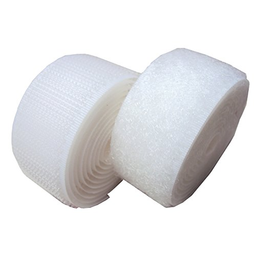 1 white sew on velcro - 7