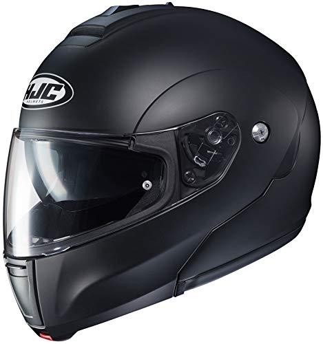 HJC Helmets Solid Men's CL-MAX 3 Modular Street Motorcycle Helmet - Semi Flat Black/Small