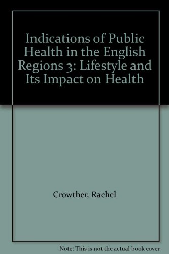 Indications of Public Health in the English Regions 3: Lifestyle and Its Impact on Health