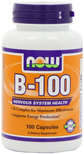 NOW Foods B-100 Caps, 100 Capsules, Health Care Stuffs