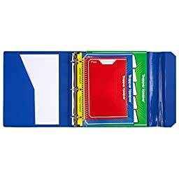 Mead Trapper Keeper 3 Ring Binder, Heat Sealed, 1-1/2\