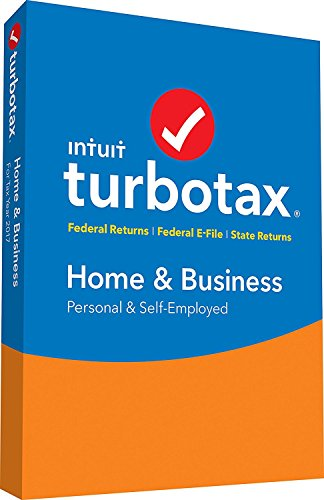 Software : Turbotax Home & Business 2017 Software Mac/Win + Efile + State (DOWNLOAD VERSION)