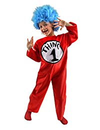 Dr Seuss Thing 1 Thing 2 Kids Costume Funny Dr Seuss Costume Kids Small