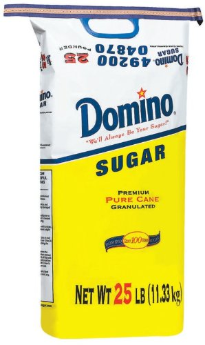 Domino Sugar, Granulated, 25-Pound Bags Domino Chocolate