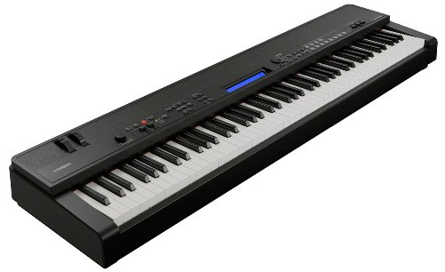 (Yamaha CP40 Stage Piano with Weighted Keys and Sustain Pedal)