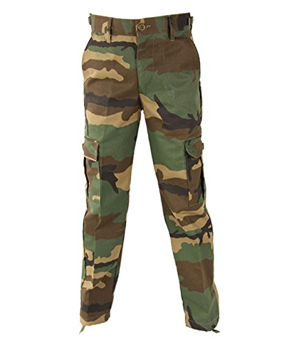 Propper Kids BDU Trousers, 60/40 Cotton/Poly Twill, Choose Size Size 8 (International Trousers Cotton Propper)