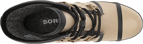 Beach Joan Women's Wedge SOREL Rain Black Booties wOXpx