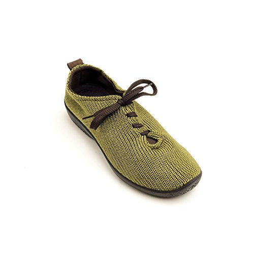 Arcopedico 1151 LS Womens Oxfords Shoes, Olive, Size - 38 by Arcopedico