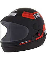 Pro Tork Capacete Sport Moto 788 60 Preto/Laranja