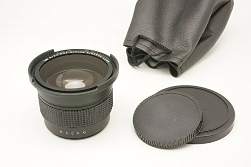 Gadget Place 0.35x High Definition Fisheye Lens with Macro for Leica V-LUX 3 V-LUX 2 by Gadget Place
