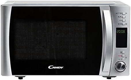 Candy CMXC 30DCS Piano di lavoro Microonde combinato 30L 900W Nero, Acciaio inossidabile forno a microonde