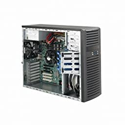 Supermicro SuperChassis CSE-732D4-865B 865W Mid-Tower Server Chassis (Black)