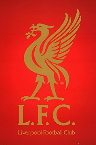 Liverpool FC Club Crest Poster 24 x 36in
