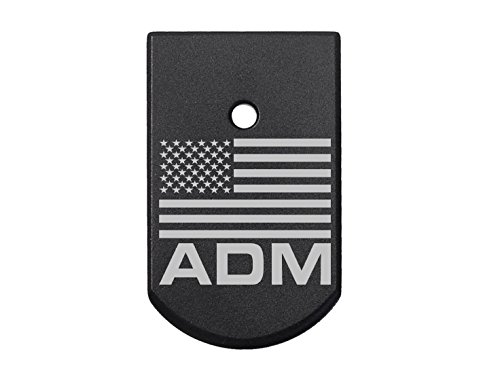 - NDZ Performance for Sig Sauer P226 Floor Plate 9MM .40 .357 Black Us Flag Admiral Chief Of Naval Ops.