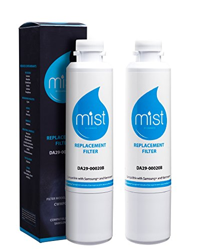 Mist DA29-00020B Replacement for Samsung DA29-00020B, DA29-00020A, HAF-CIN/EXP, 46-9101 Refrigerator Water Filter 2 pack