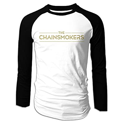 The Chainsmokers Logo Black Adult Tri-Blend Contrast Shirt
