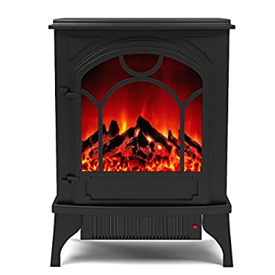Regal Flame Aries Electric Fireplace Free Standing Portable Space Heater Stove Better than Wood Fireplaces, Gas Logs, Wall Mounted, Log Sets, Gas, Space Heaters, Propane, Gel, Ethanol, Tabletop