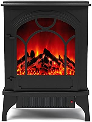 Amazon Com Regal Flame Aries Electric Fireplace Free Standing