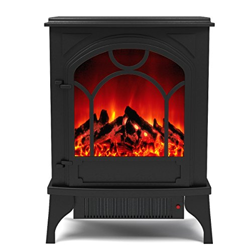 (Regal Flame Aries Electric Fireplace Free Standing Portable Space Heater Stove Better than Wood Fireplaces, Gas Logs, Wall Mounted, Log Sets, Gas, Space Heaters, Propane, Gel, Ethanol, Tabletop)