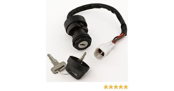 Ignition Key Switch YAMAHA BREEZE 125 YFA125 1995 1996 1997 1998 1999 00 01 ATV