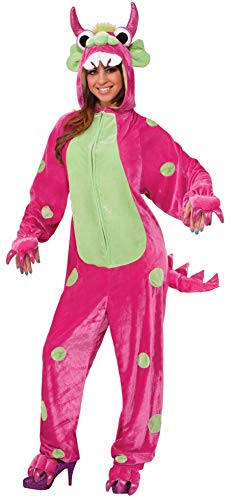 Forum Novelties Women's Monster Costume, Pink/Green,