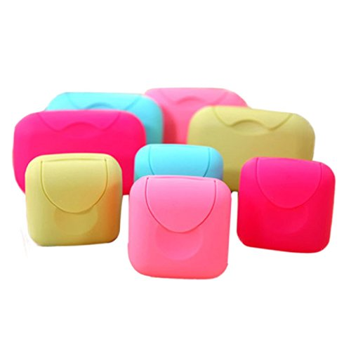 Luweki New Bathroom Dish Plate Case Home Shower Travel Hiking Holder Container Soap Box (Dish Quilt)