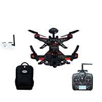 Walkera Runner 250 Advance GPS System RC Racer Quadcopter RTF with DEVO 7 Transmitter OSD 1080P Camera GPS Goggle 2 Backpack (FPV Deluxe Edition)