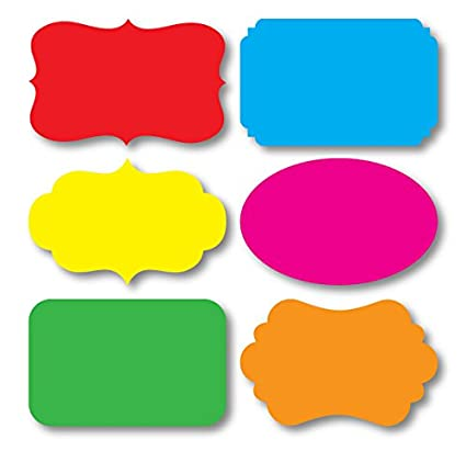 Nourish 36 Pcs In 6 Styles And 6 Colours - Sticker Labels Self-Stick Notes at amazon