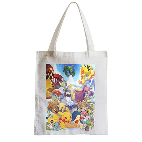 pikachu Grand Shopping pokemon Fabulous Etudiant Sac dresseur pokemon Plage recherche ETYRRZqw