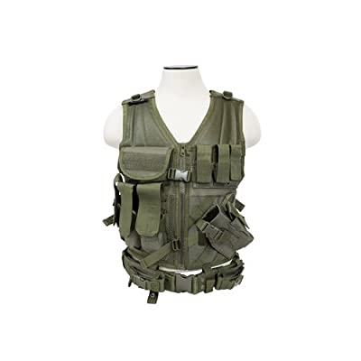 VISM by NcStar Tactical Vest, Green, XX-Large (CTVL2916G)
