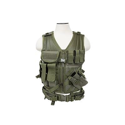 VISM by NcStarTactical Vest/Green , adjustable small/medium (CTV2916G)
