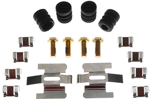ACDelco 18K461X Professional Rear Disc Brake Caliper Hardware Kit with Clips, Seals, and Bolts (Rear Seal Caliper)