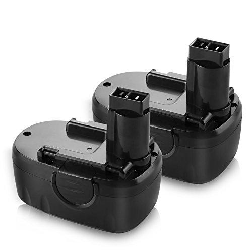 Enegitech 2 Pack WORX 18V 3.0Ah Battery Replacement for WA3127 WA3152 WG150 WG152 WG250 WG541 WG900 WG901 Cordless Power Tools