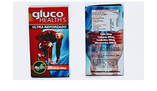 ARTRITIS REUMATOIDE Pain RELIVER GLUCO HEALTHS 30 Pills