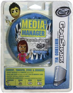 Catz Wii - Mad Catz GameShark GameSaves & Media Manager for Nintendo Wii