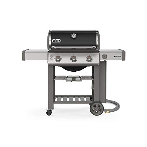 Weber 66011001 Genesis II E-310 3-Burner Natural Gas Grill, Black