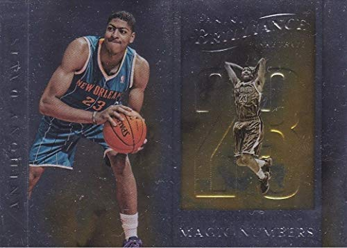 2012-13 Panini Brilliance - Anthony Davis - Magic Numbers - New Orleans Basketball Rookie Card - RC Card #3 (Numbers Panini Brilliance Magic)