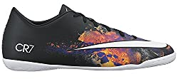 Nike Men's Mercurial Victory V Cr Indoor Cleat Blackwhitetotal Crimson Indoor Soccer Shoe 9 Men Us