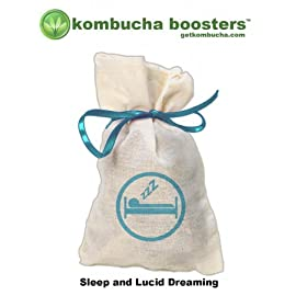 SLEEP and LUCID DREAM Kombucha Booster 10 One of the amazing things about kombucha is that it acts as a vehicle. Super charging whatever else is coming along for the ride. Most people already know
