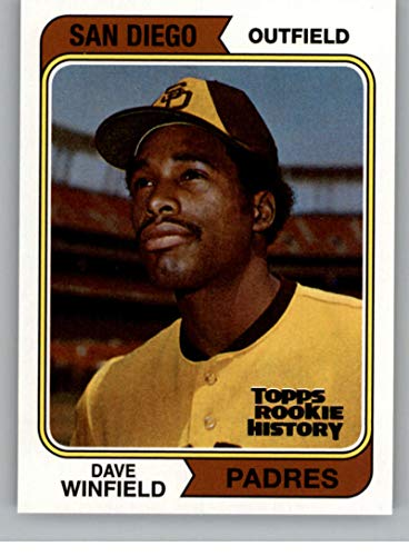 2018 Topps Archives Rookie History Dave Winfield San Diego Padres MLB Baseball Trading Card