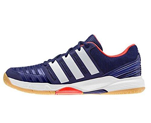 Adidas court stabil 11 BLACK1/CHALK2/LGTSCA - 10-
