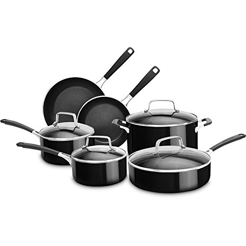 Price hidden kitchenaid kc2as12er aluminum nonstick 12 piece cookware set empire red b01fslqlxa - Kitchen aid pan set ...