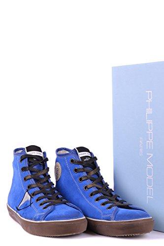 Baskets Suède Montantes Philippe Bleu Homme Mcbi238025o Model qPUUwFxZ4X