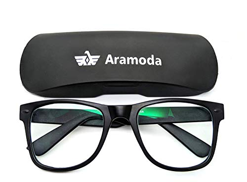 Aramoda-Aferelle-Antiglare-lens-for-Digital-Screens-Tv-Mobile-Laptop-Usage-with-Photochromatic-lens-Day-and-Night-glasses-Black-Wayfarer-Frame