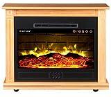 Heat Surge Roll-N-Glow EV-5 Electric Fireplace in Golden Oak