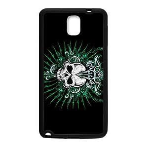Green Skull Custom Protective Hard Phone Cae For Samsung Galaxy Note3
