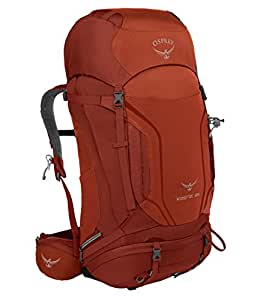 Osprey Kestrel 68 Hiking Backpack Small/Medium Dragon Red